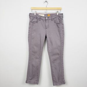 Anthro| Pilcro and the letterpress Stet Denim Pant